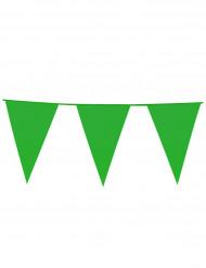 Grön vimpelgirland 10 m