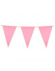 Girland med rosa vimplar