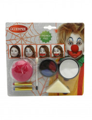 Sminkset clown Halloween