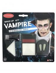 Sminkset vampyr Halloween vuxen