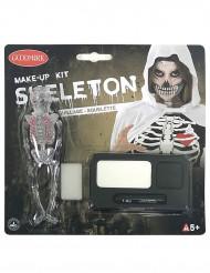 Skelett - Sminksett till Haloween