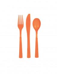 Orange plastbestick