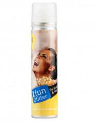 Guldspray för kropp och hår