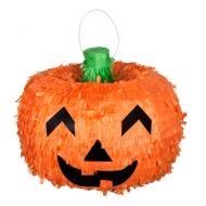 Pumpa-piñata till Halloweenfesten