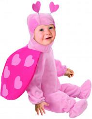 Rosa nyckelpiga - utklädnad bebis