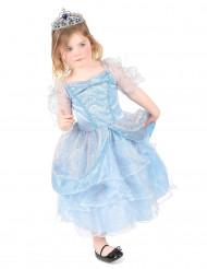 Ljusblå prinsessa - utklädnad barn