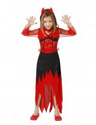 Maskeraddräkt djävul Halloween barn