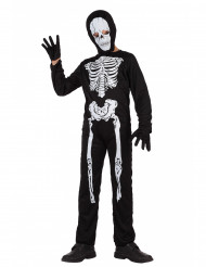 Skelettdräkt till Halloween för barn