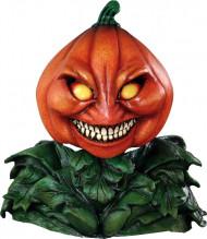Skrämmande pumpa - Lyxig helmask till Halloween