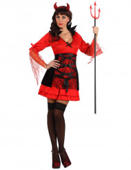 Djävul - utklädnad till Halloween för vuxna