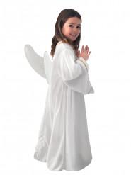 Vit ängladräkt för barn - Juldräkt