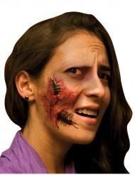 Fejksår med insekt Vuxen Halloween