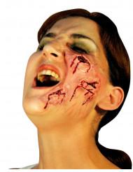 Fejksår i ansiktet