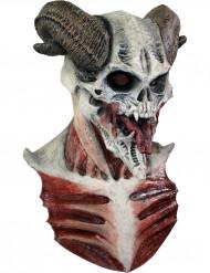 Djävulsk skelettmask Halloween