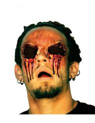 Fejksår utstuckna ögon Vuxen Halloween