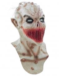Monstermask med ihopsydd mun