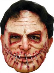 Mask med ihopsydd bred mun Vuxen Halloween
