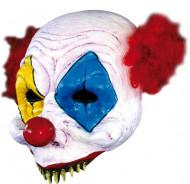 Skrämmande clownmask Vuxen
