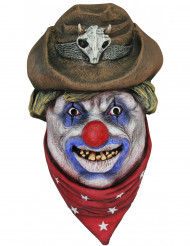 Cowboyclown Mask Vuxen Halloween