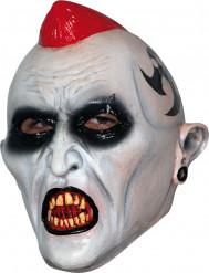 Djävulsk punkare - Halloweenmask för vuxna