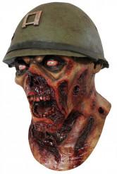 Zombie Soldat Mask Vuxen Halloween