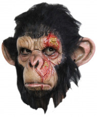 Apa med infekterade sår Mask Halloween