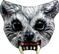 Aggresiv Varg Halvmask Vuxen Halloween