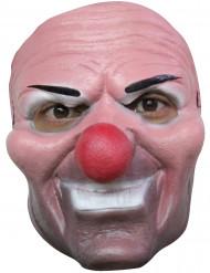 Skratta eller gråta - elak clownmask för vuxna