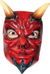 Djävulen - Maskeradmask för vuxna till Halloween