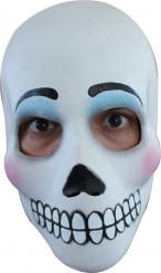 Mexikansk Dia de los muertos mask för vuxna