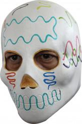Mexikansk Dia de los muertos Mask