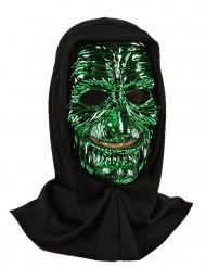 Gröngul monstermask vuxen