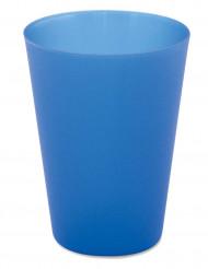 4 Återanvändbara blå bayerska muggar