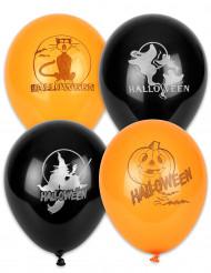 100 Halloweenballonger