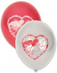 100 Alla hjärtans dag ballonger