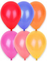 24 ballonger i olika färger 25 cm