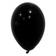 24 svarta ballonger 25 cm