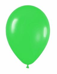 12 Gröna ballonger 23 cm