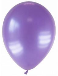 12 metalliclila ballonger 28 cm