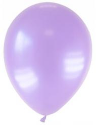 12 Lavendelfärgade ballonger 28 cm