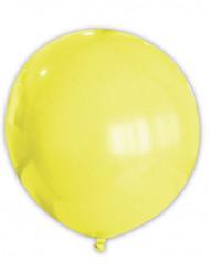 Gul jätteballong 80 cm