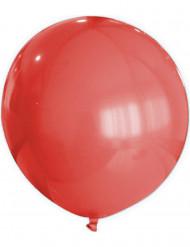Röd ballong 80 cm - Festdekoration