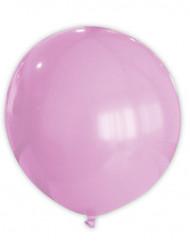 Rosa ballong 80cm