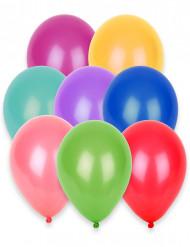 100 ballonger i olika färger 27 cm