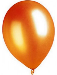 100 orangea ballonger - Festdekor
