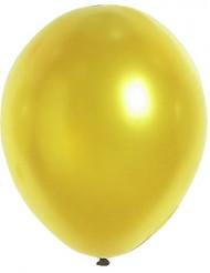 100 ballonger i metallicguld 29 cm