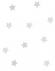 10 mini-speglar silverstjärnor