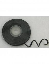 Svart raphiasnöre med integrerad ståltråd 10m