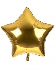 Stor stjärnballong i aluminium 80 cm