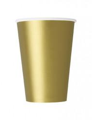 10 muggar i guldpapp